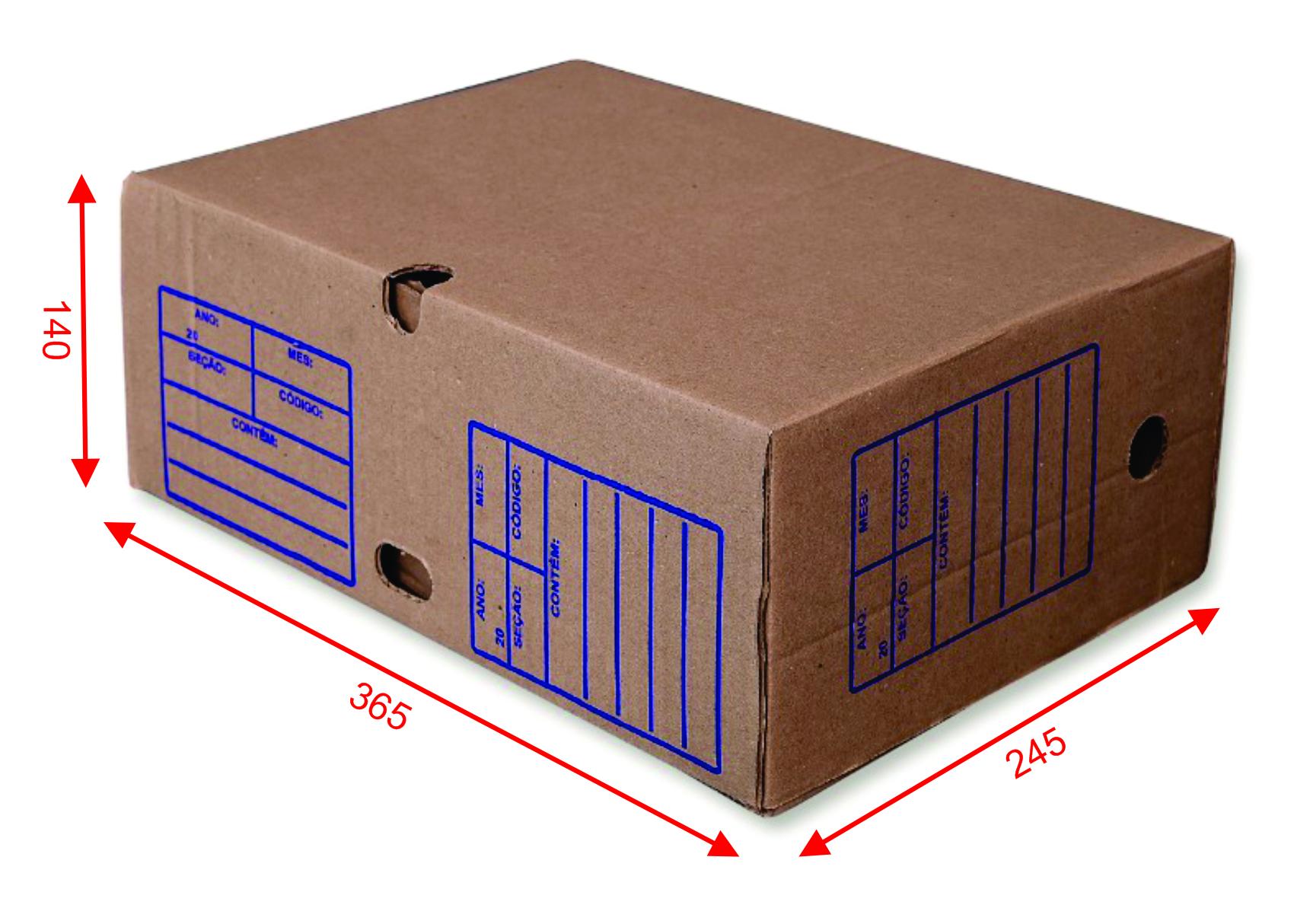 Caixa de Papelão REF: 5522 (Arquivo Morto)